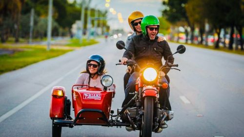Miami Sidecar Motorcycle Tour