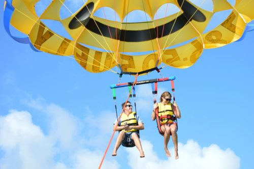 Parasailing Tour in Biscayne Bay