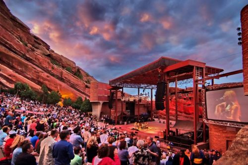 Red Rocks Amphitheatre - Photo credit (Colorado.com)