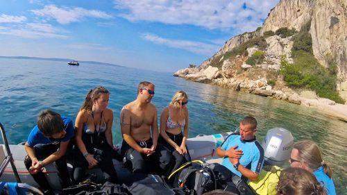 Scuba Diving in the Adriatic Sea