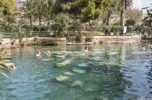 Soak in the Beverly Hot Springs