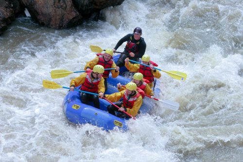 White Water Rafting, Denver