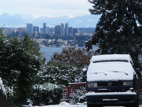 Bellevue Seattle Cold Weather