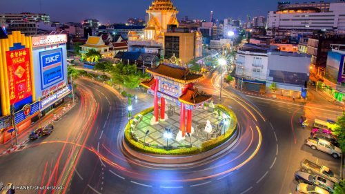 History of Chinatown in Bangkok