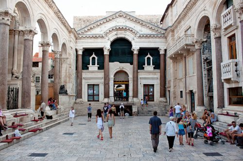 History of Palace of Diocletian
