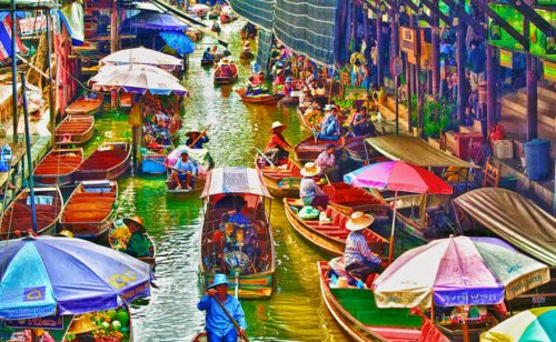 History of the Bangkok Floating Market