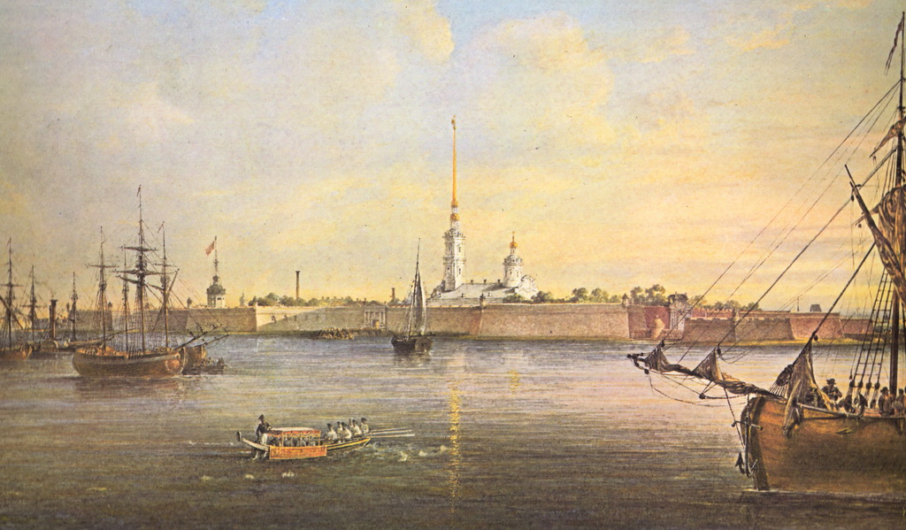 History of the Geography of St. Petersburg