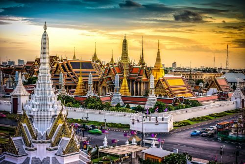 History of the Grand Palace in Bangkok