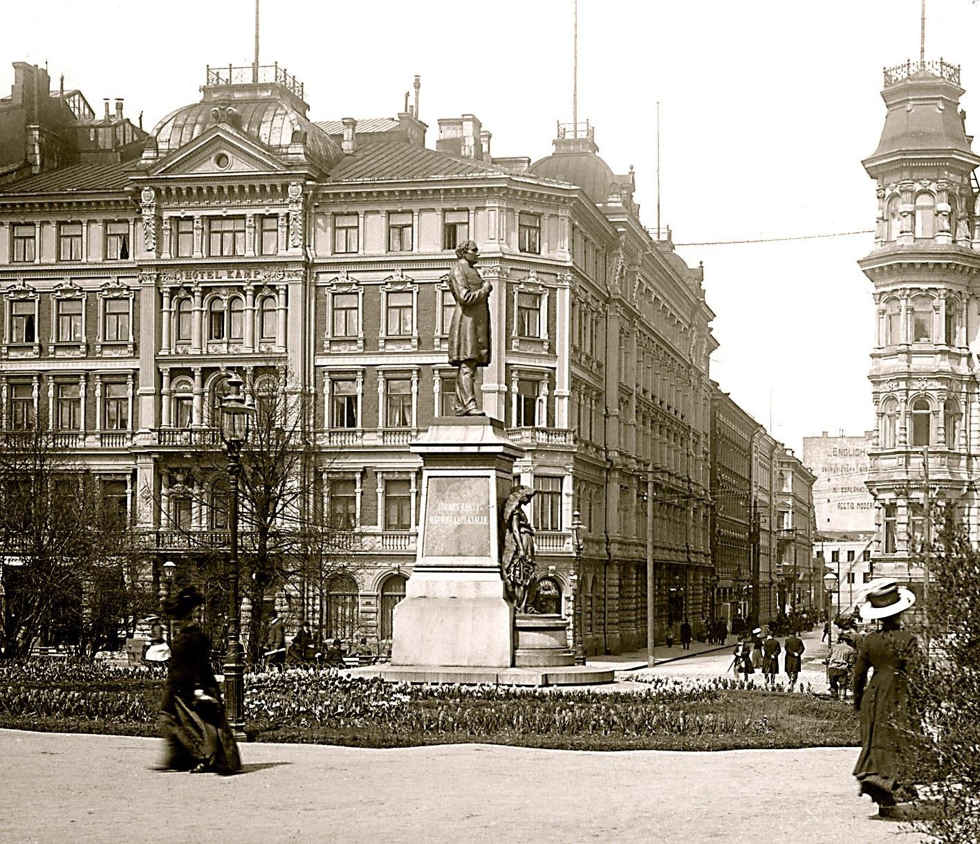History of the Hotel Kämp