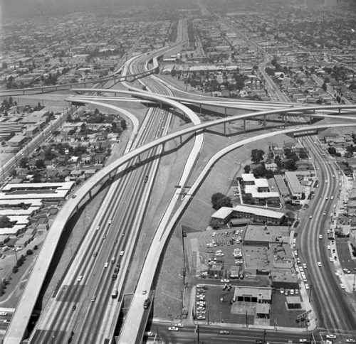 History of the Los Angeles Freeways