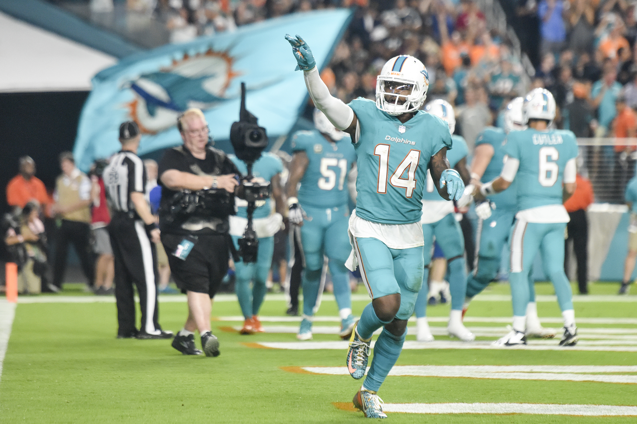 History of the Miami Dolphins Uniforms