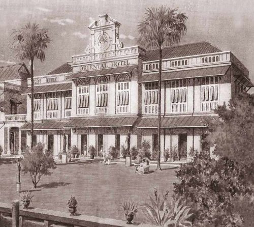 History of the Oriental Hotel in Bangkok