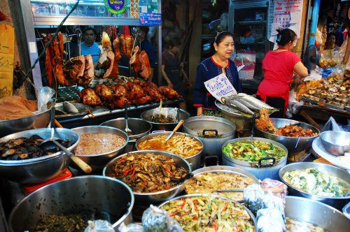 History of the Street Food in Bangkok