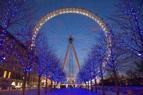 London Eye Twilight