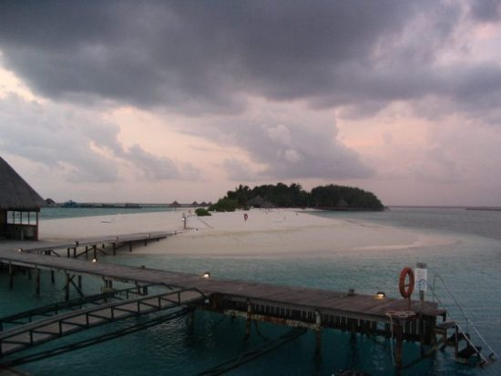 Maldives Rain