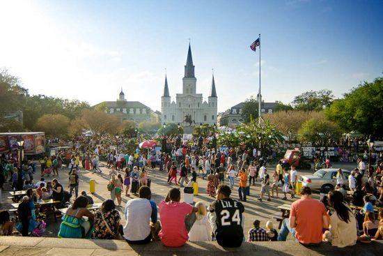 New Orleans April 2014