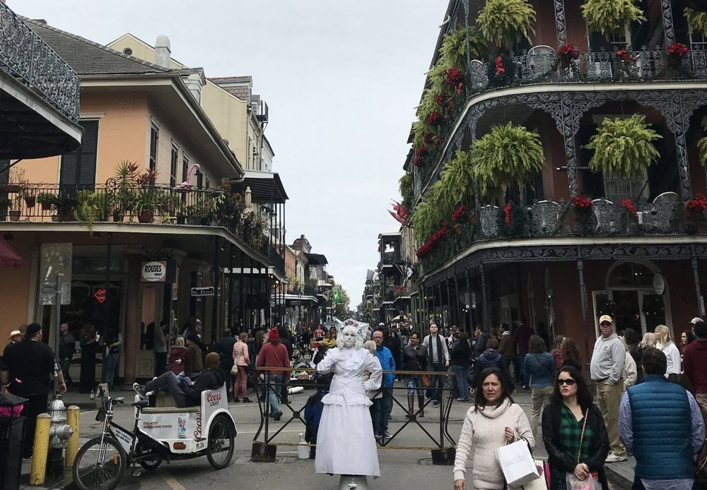 New Orleans in december