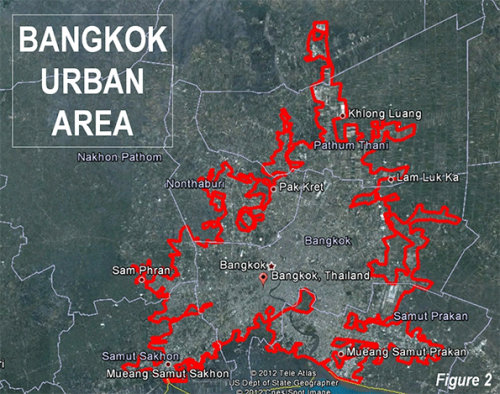 Population History of Bangkok