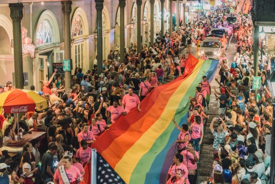 The New Orleans Pride Parade