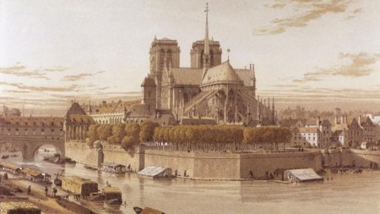 history of Notre Dame cathedral