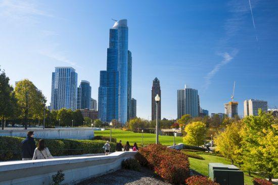October in Chicago