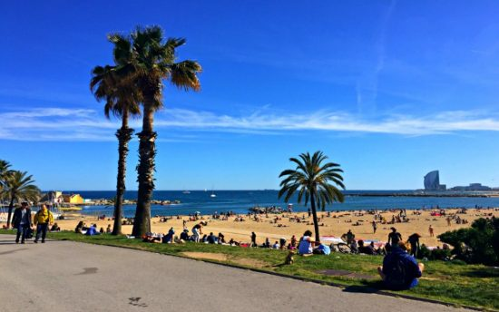 Wetter Barcelona September