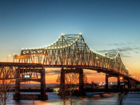 Baton Rouge, New Orleans