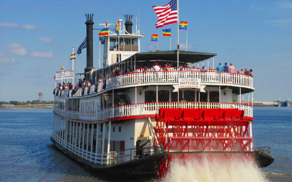 Cruise along the Mississippi River, New Orleans