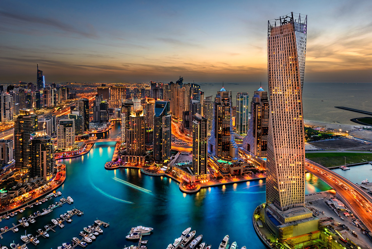 Dubai in October
