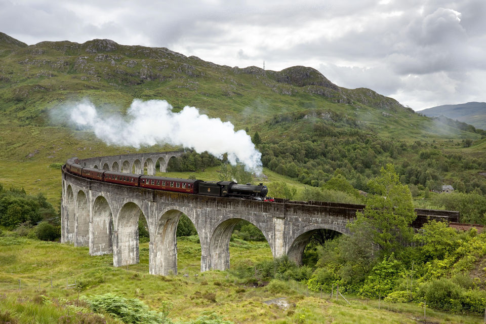 Fort William and The Hogwarts Express