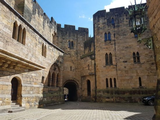 Northumberland, Holy Island, and Alnwick Castle