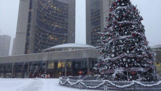 Toronto weather in December