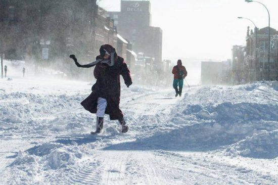 Toronto weather in February
