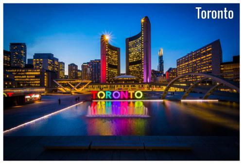 Toronto weather in June