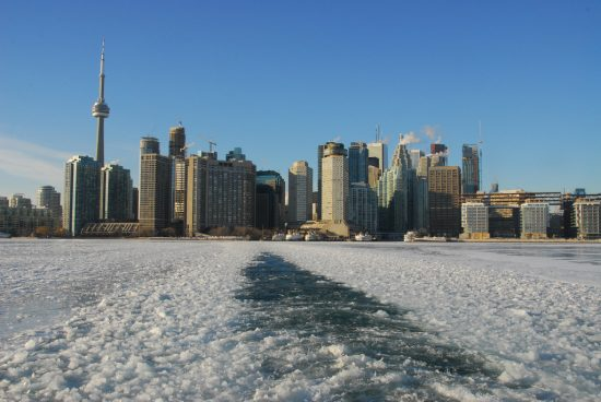 Toronto weather in March