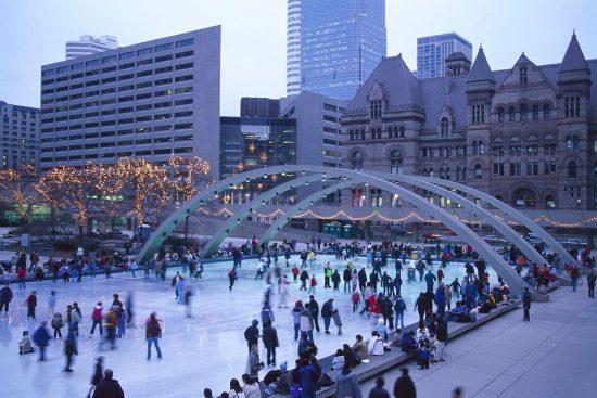 Toronto weather in November