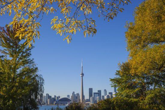 Toronto weather in October