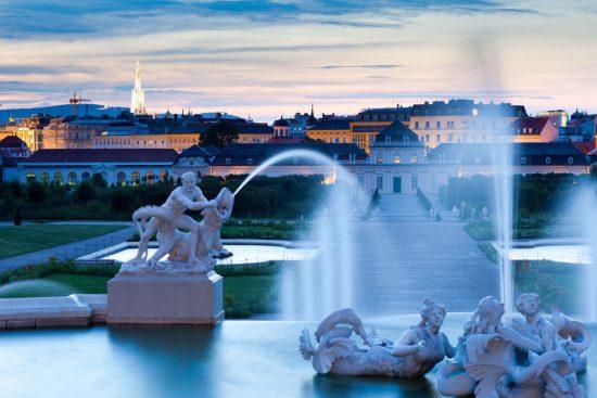 Visit the Belvedere in Vienna