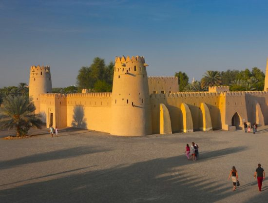 A Historic View at the Al Jahili Fort