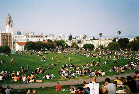 Afternoon in Dolores Park