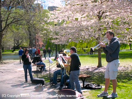 Boston weather in April