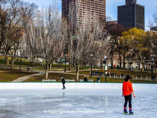Boston weather in January
