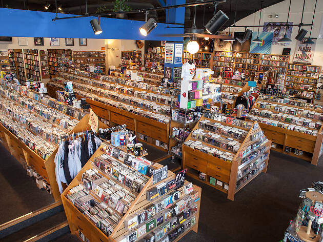 Browse through Music and Waterloo Records