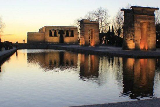 Check out the Egyptian Temple de Debod