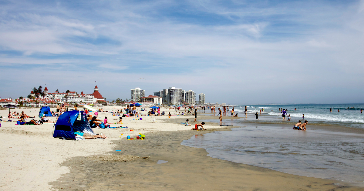 Relax on Coronado Beach