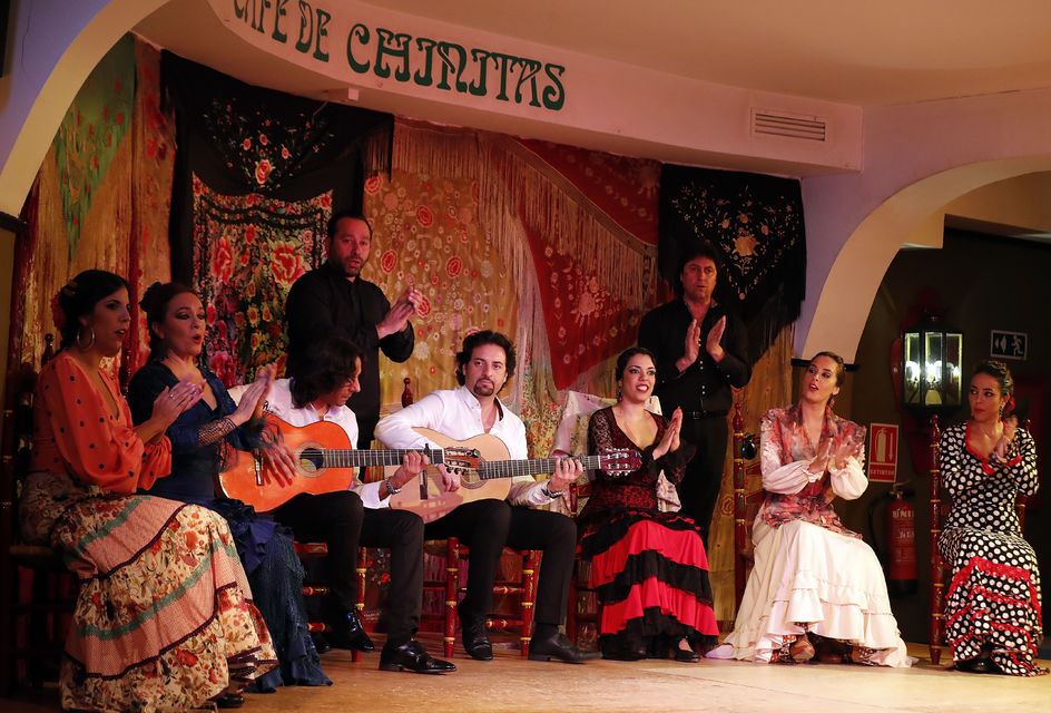 Dinner and Flamenco at Café de Chinitas