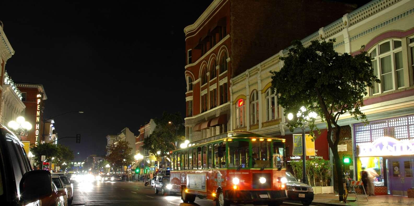 Enjoy the Nighttime City Lights