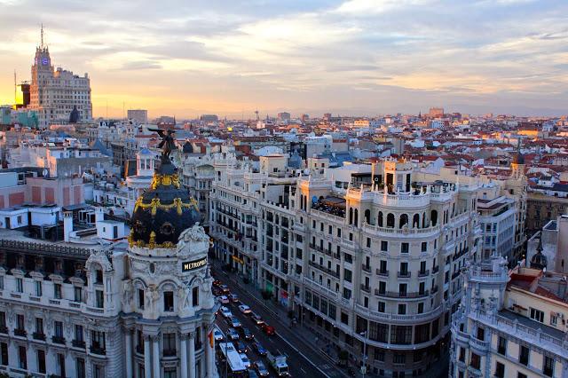Enjoy the View from Círculo de Bellas Artes