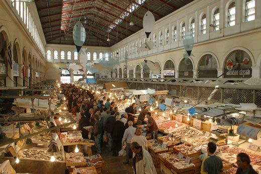 Experience the Athens Central Market