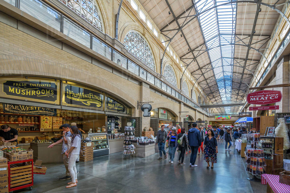 Try Food at the Ferry Building Marketplace